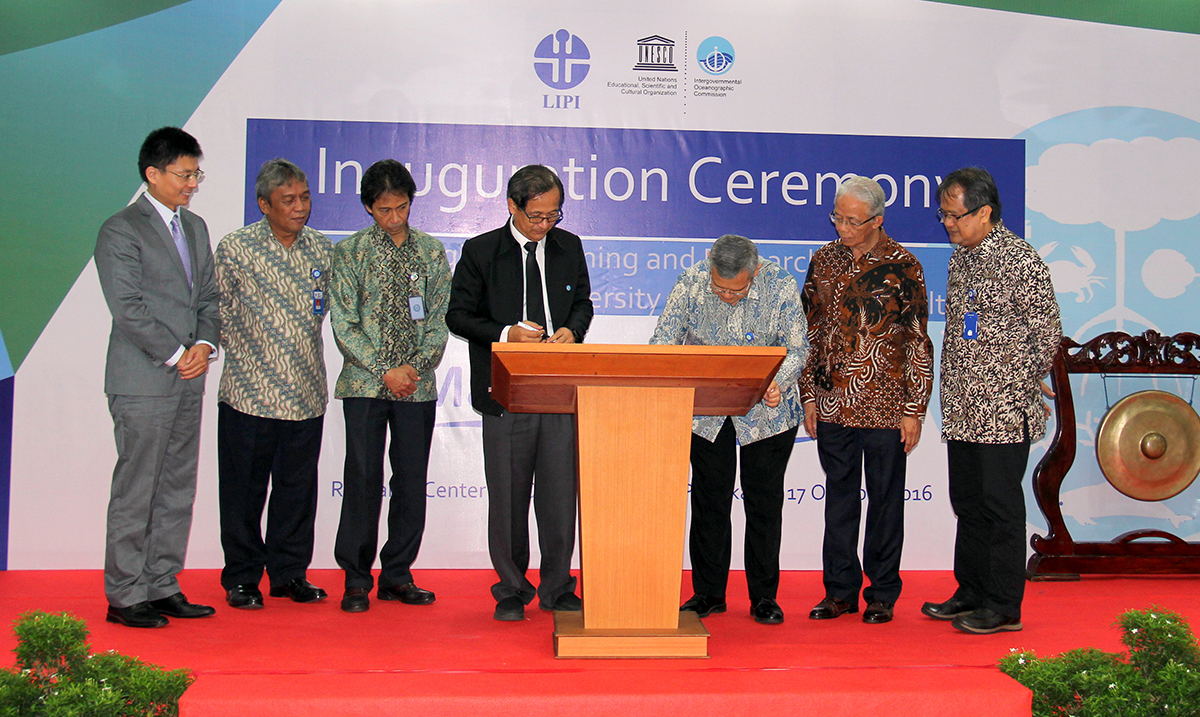 Regional ocean science gets boost with Jakarta centre launch
